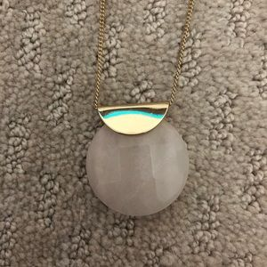 Old Navy Long Statement Necklace